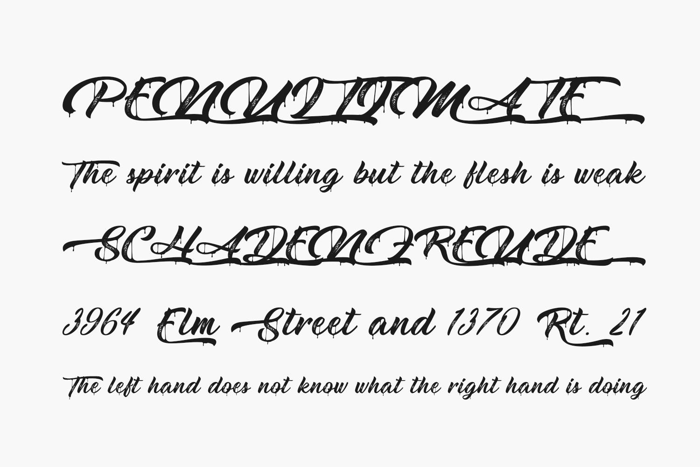 Metal Lady Free Font