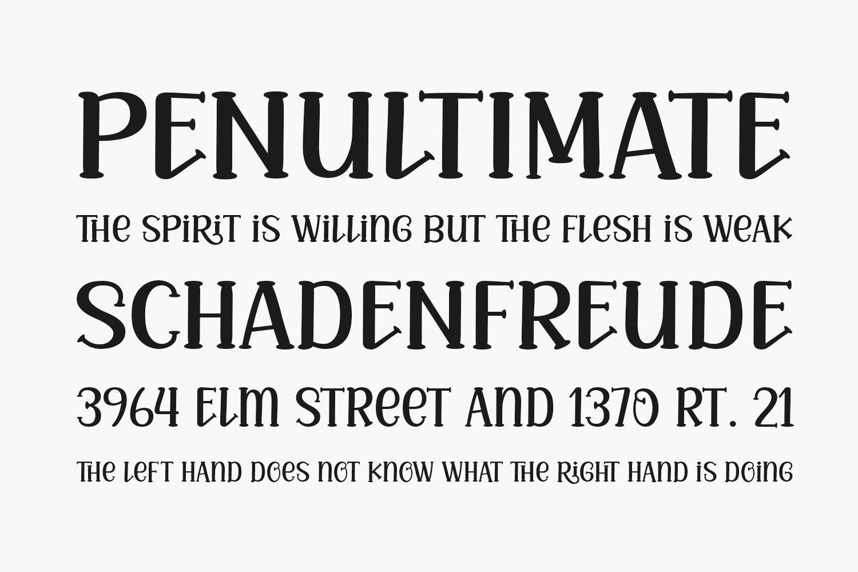 Mila Bright Free Font