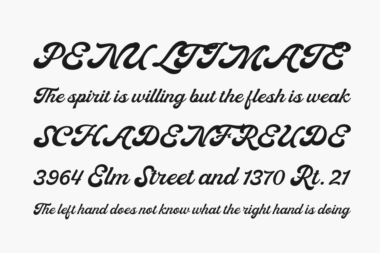 Moraline Script Free Font