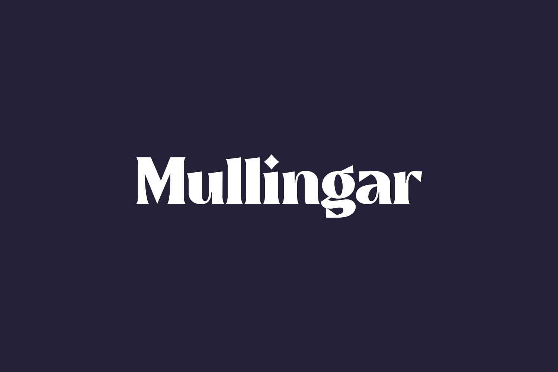 Mullingar Free Font