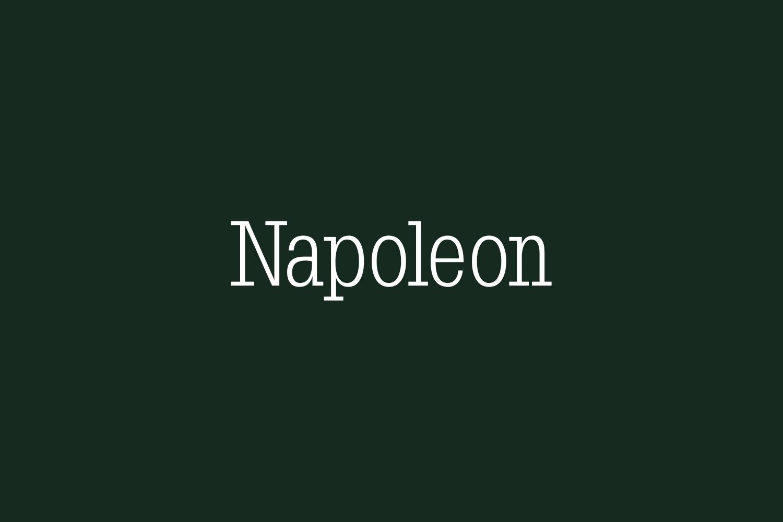 Napoleon Free Font