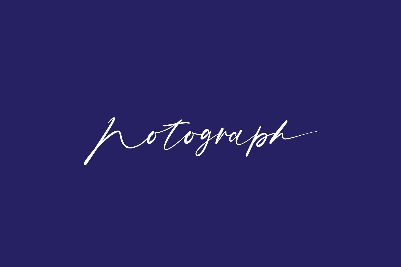 Notograph Free Font