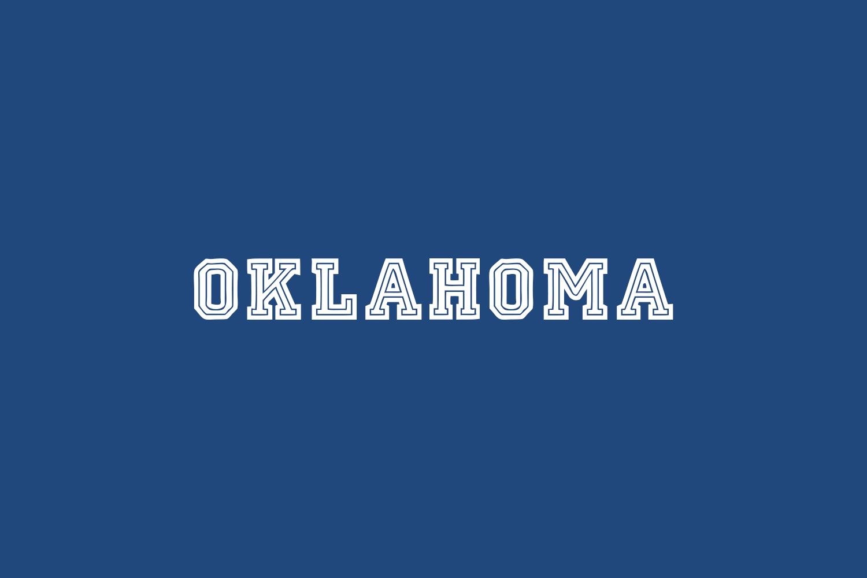 Oklahoma Free Font