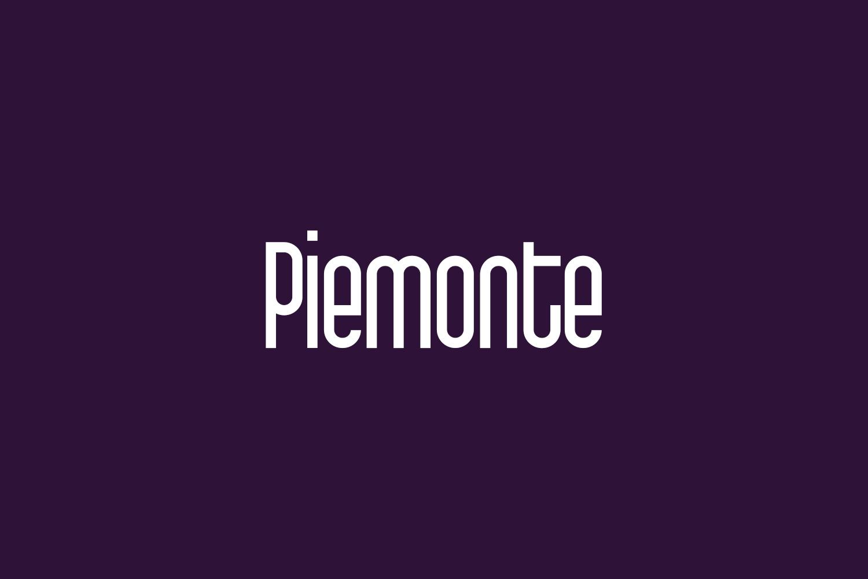Piemonte Free Font