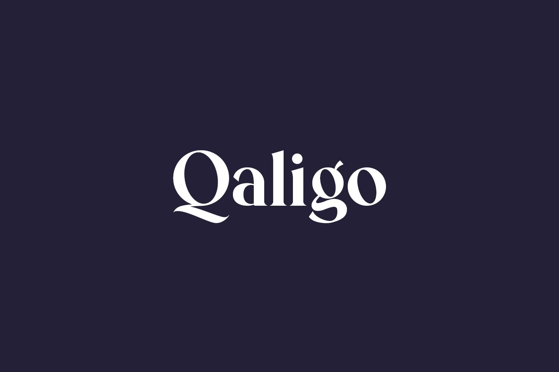 Qaligo Free Font