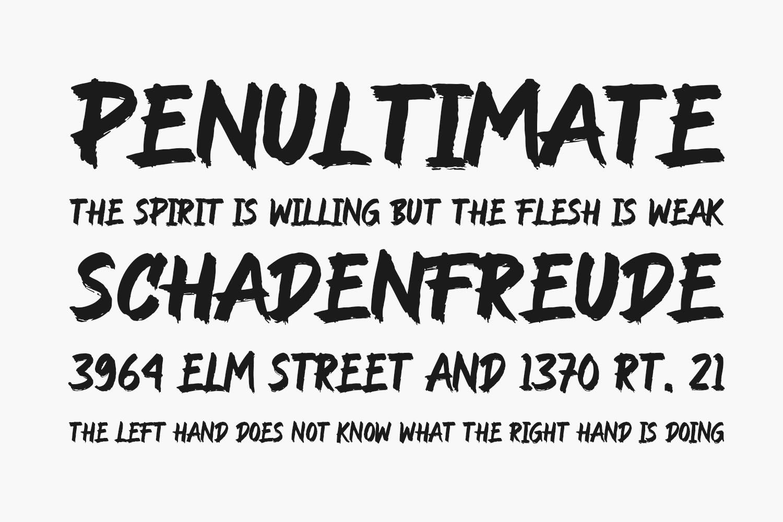 Rockndut Free Font