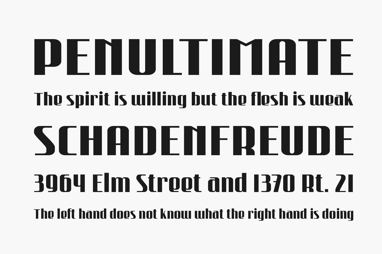 Rushtone Free Font