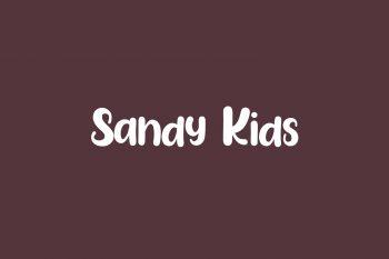 Sandy Kids Free Font