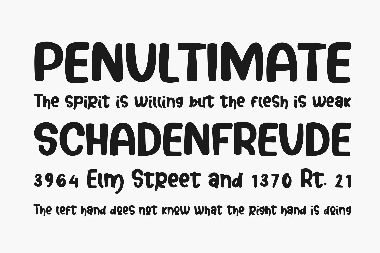 Senoya Bright Free Font