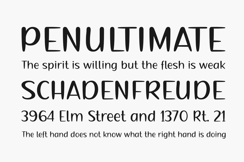 Serry Free Font