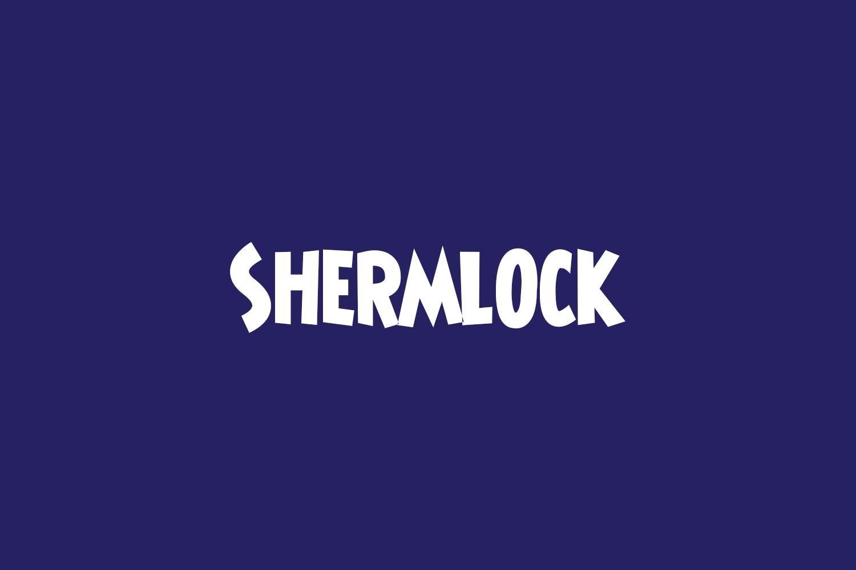 Shermlock Free Font