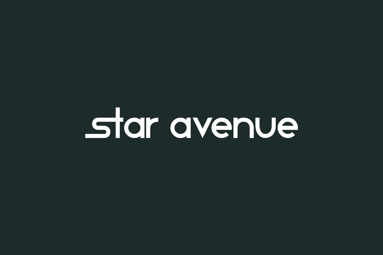 Star Avenue Free Font