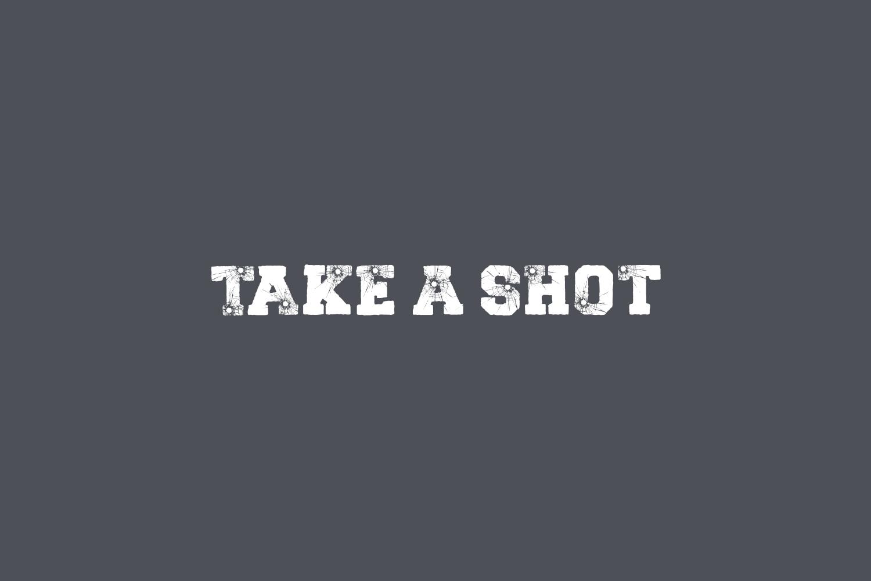 Take A Shot Free Font