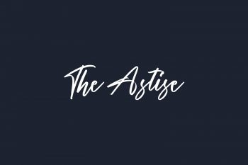 The Astise Free Font