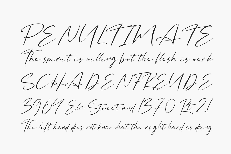 The Badmint Free Font