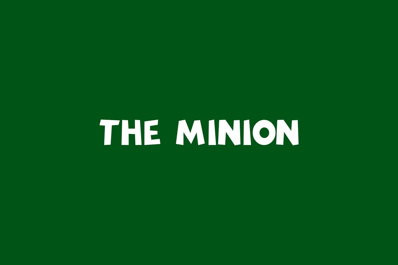 The Minion Free Font