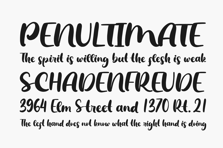 The Sandwich Free Font