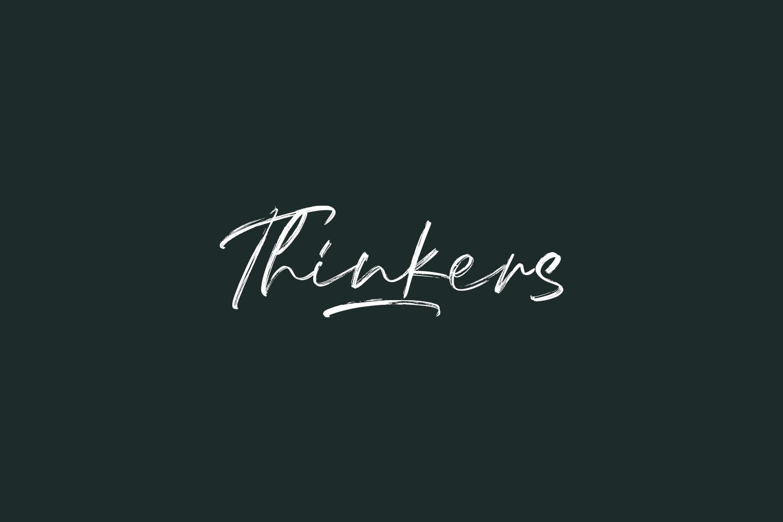 Thinkers Free Font