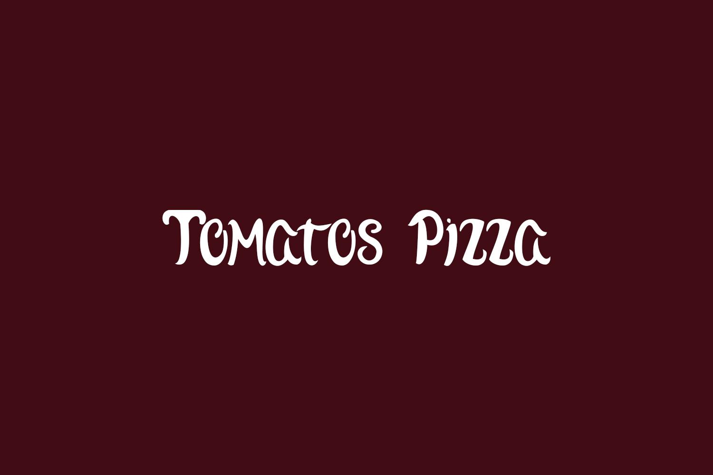 Tomatos Pizza Free Font