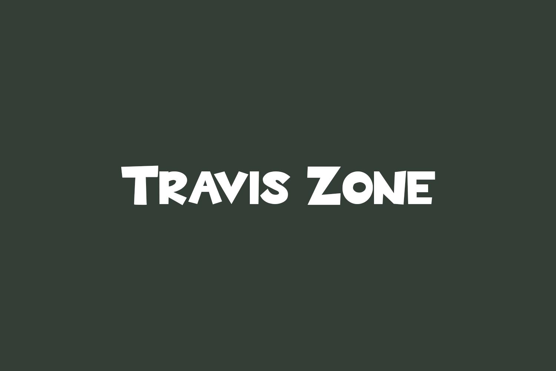 Travis Zone Free Font