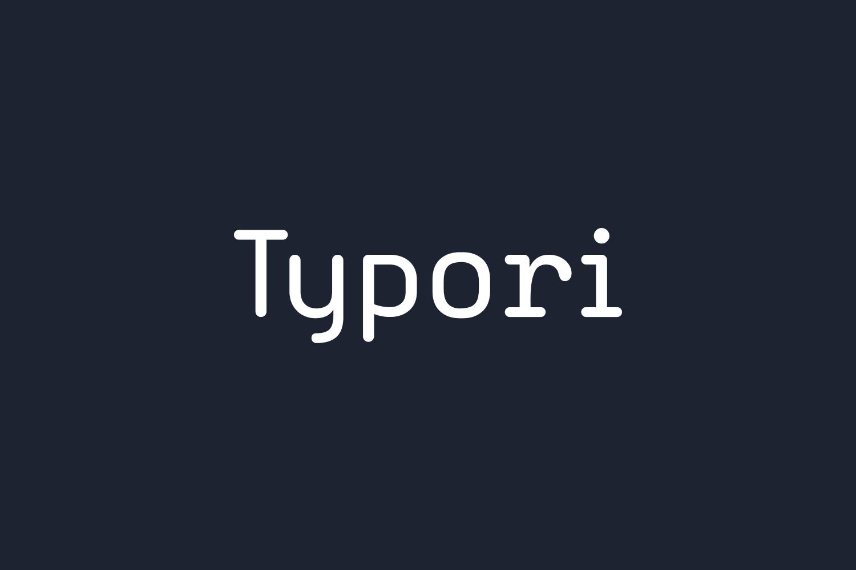 Typori Free Font