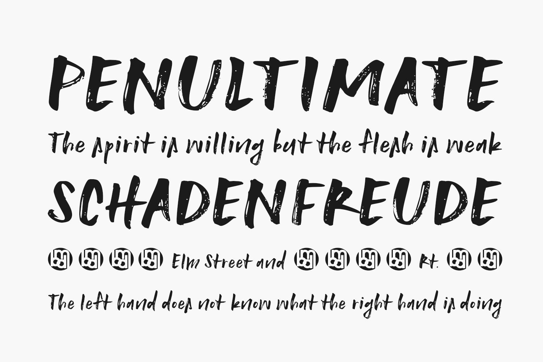 Unashamed Free Font