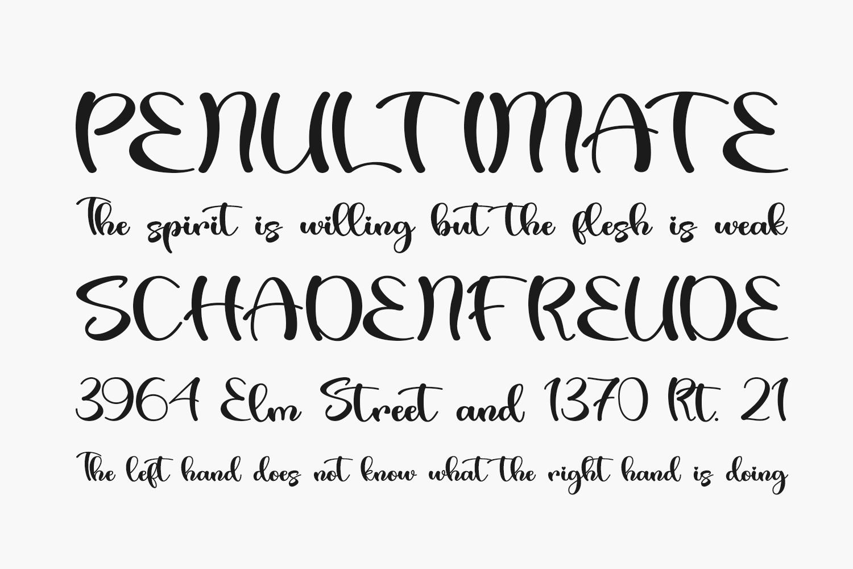 Valentine Bright Free Font