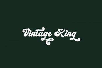 Vintage King Free Font