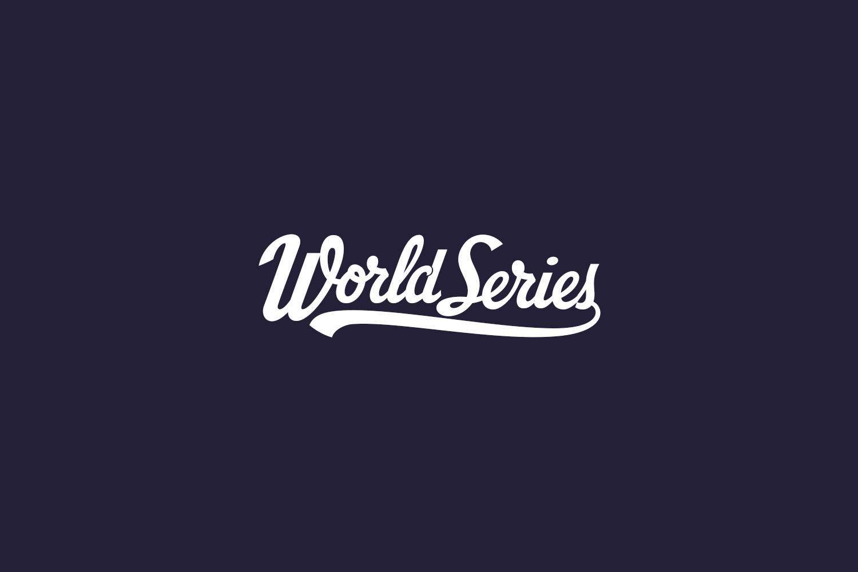 World Series Free Font