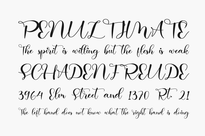 Abella Free Font