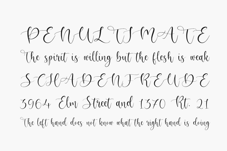 Adrielle Free Font