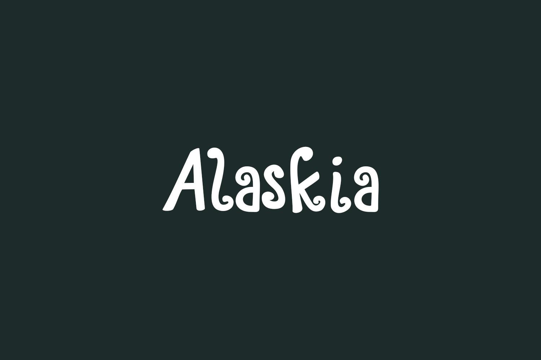 Alaskia Free Font