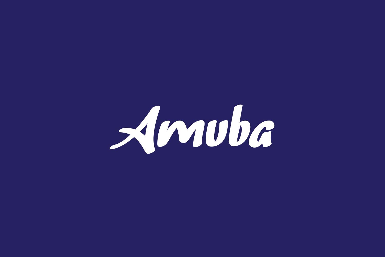 Amuba Free Font