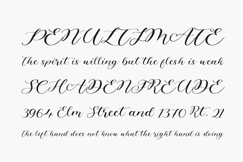 Angelinea Free Font