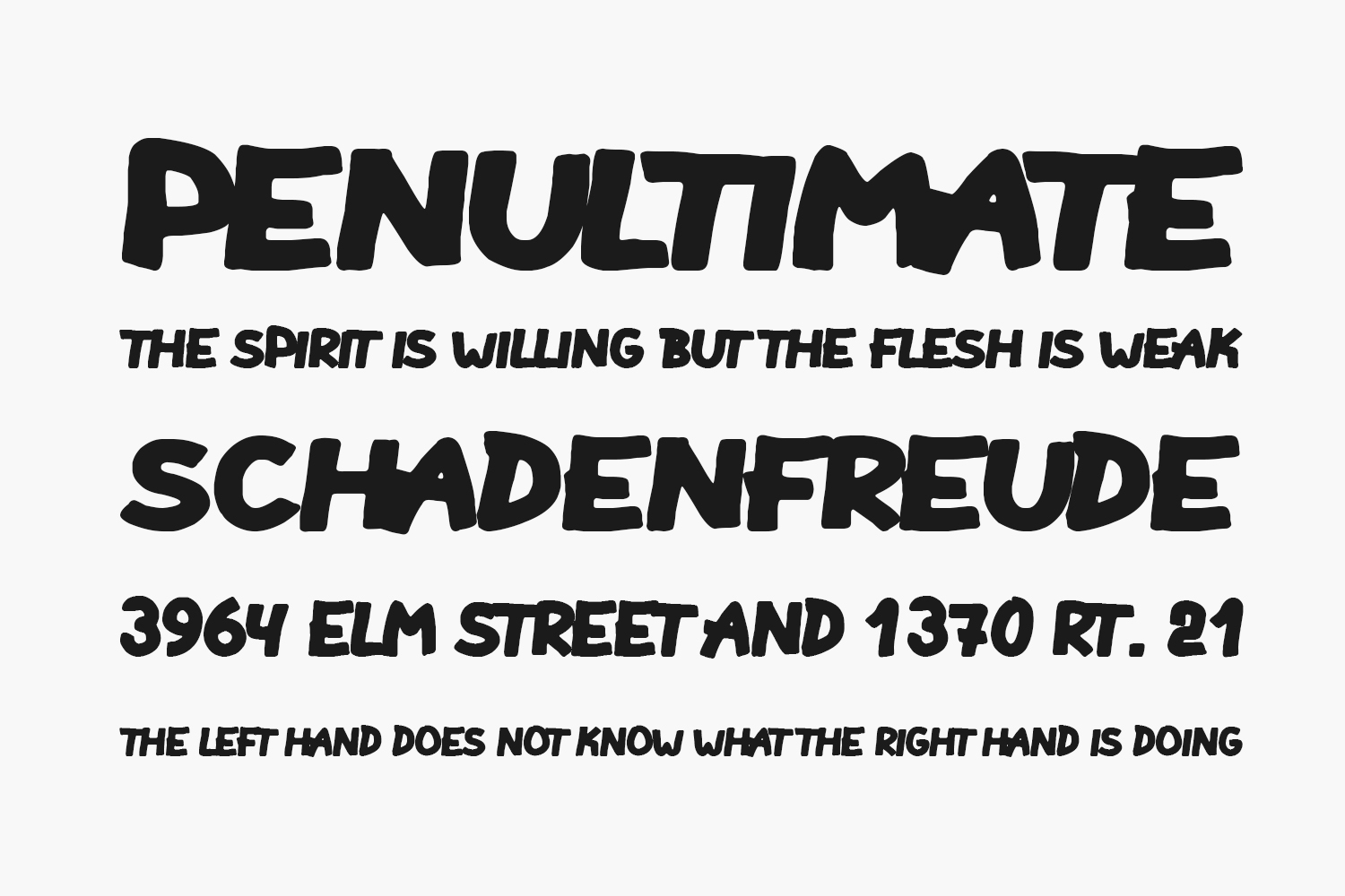 Another Round Free Font