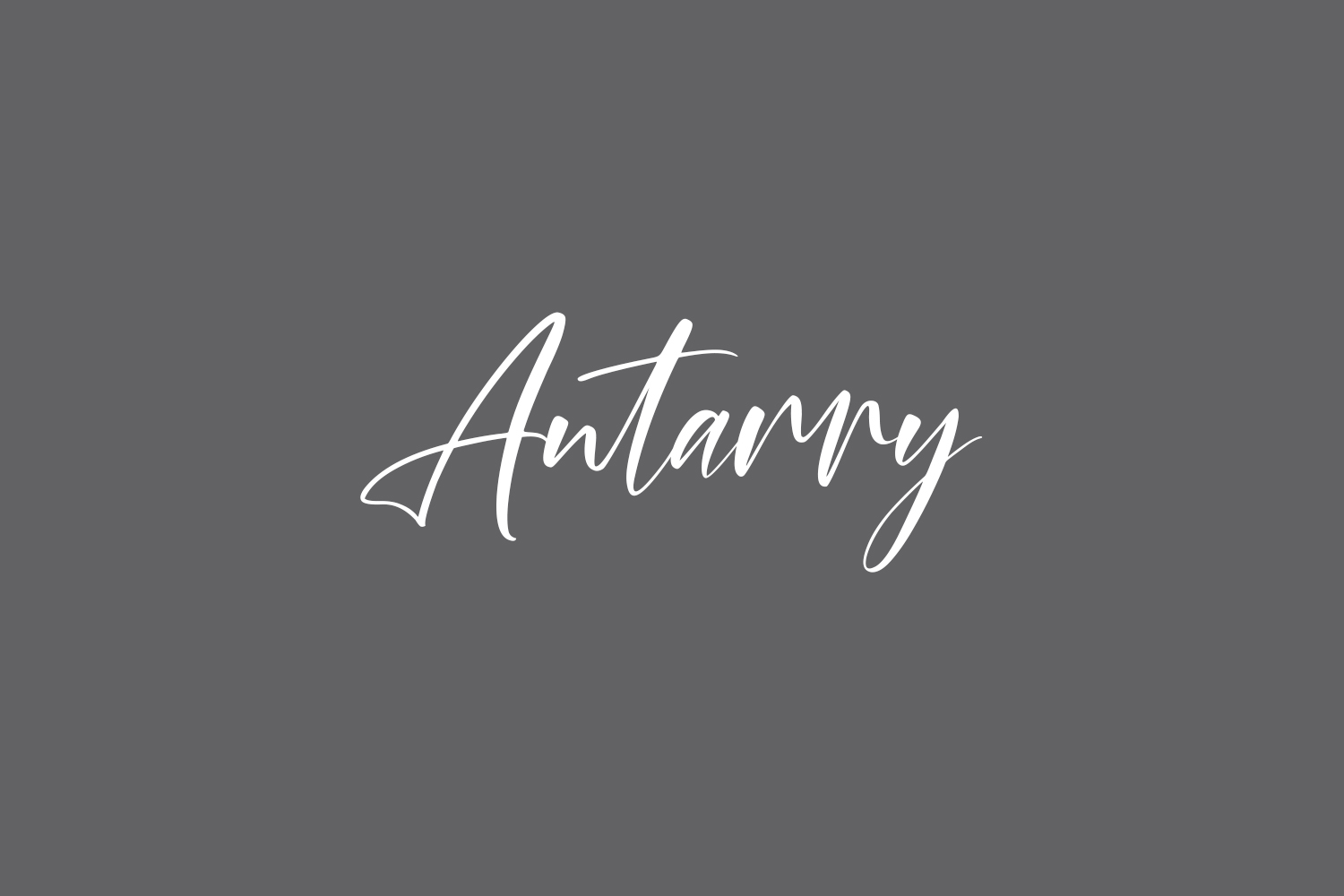 Antarry Free Font