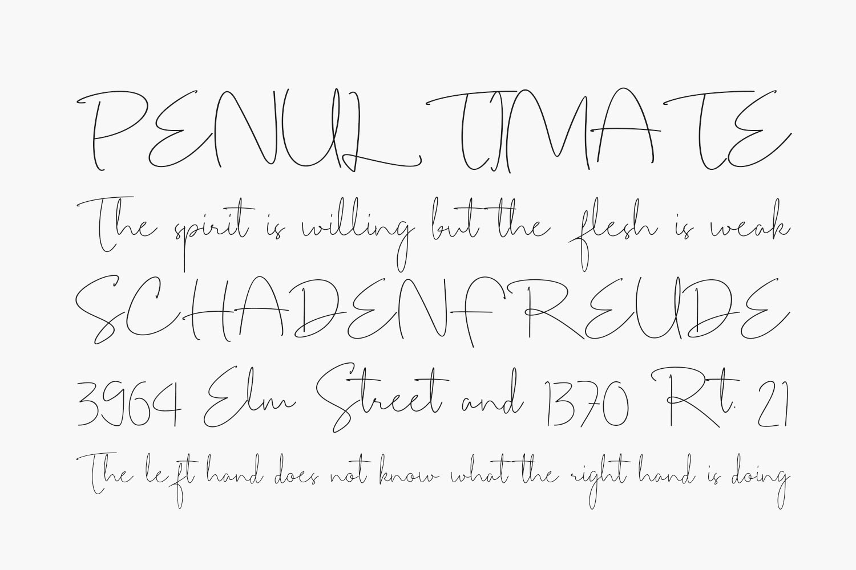 Arandelle Free Font