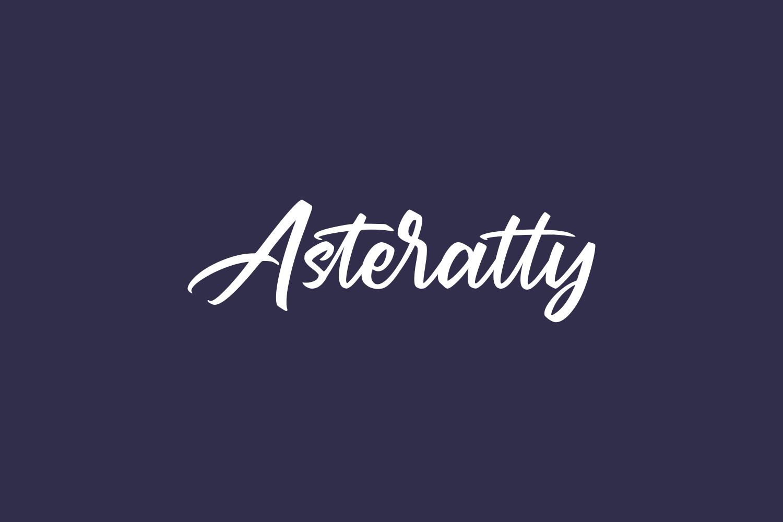 Asteratty Free Font
