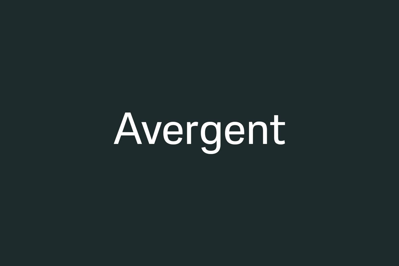 Avergent Free Font