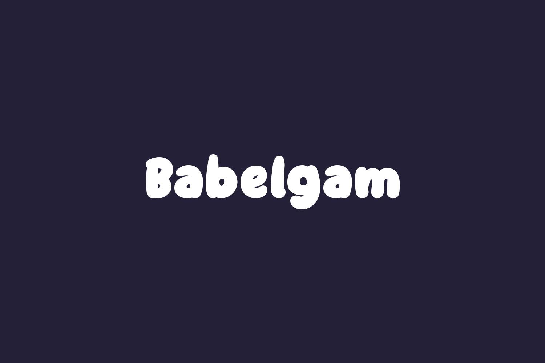 Babelgam Free Font