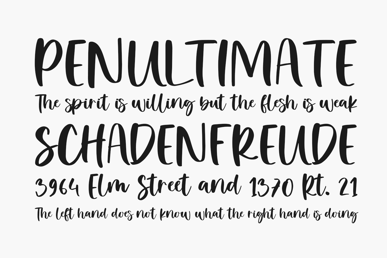 Balimoon Free Font