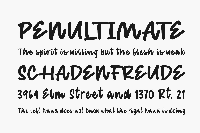 Bentona Wilson Free Font