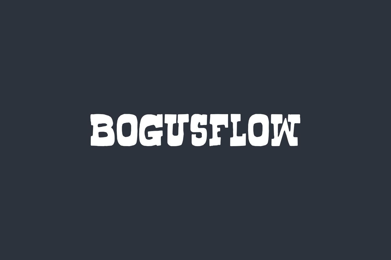 Bogusflow Free Font