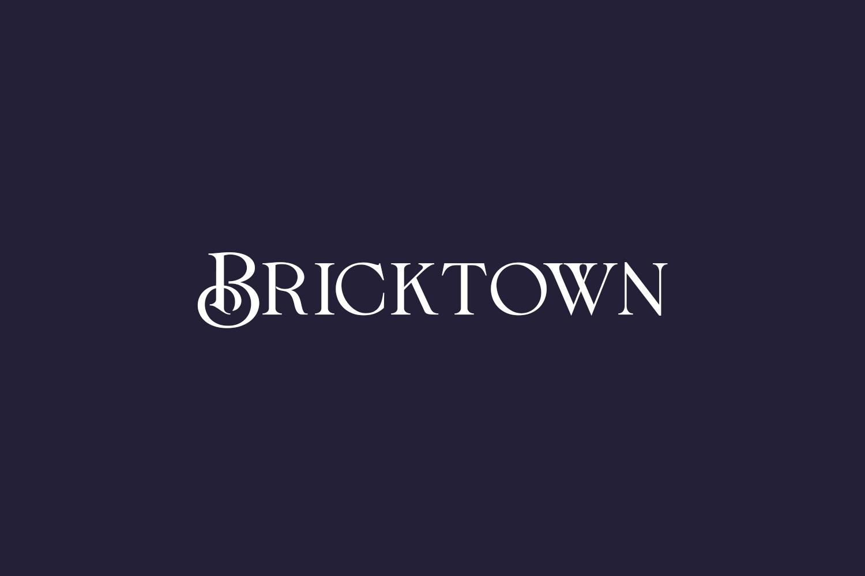 Bricktown Free Font