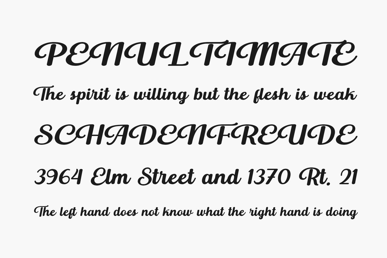 Buckerley Free Font