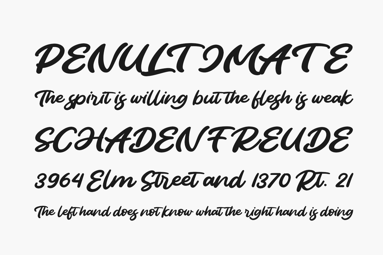 Burayots Free Font