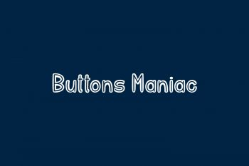 Buttons Maniac Free Font