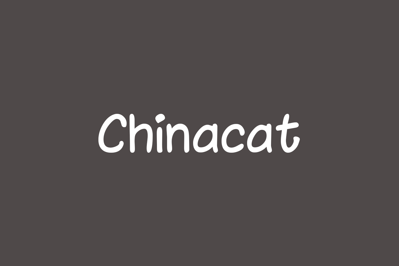Chinacat Free Font