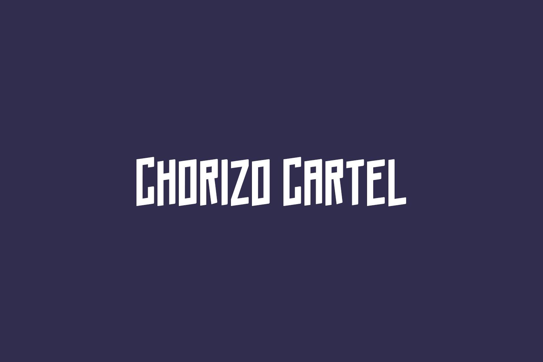 Chorizo Cartel Free Font