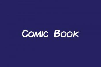 Comic Book Free Font